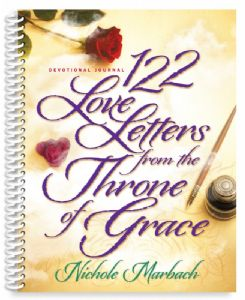 122 Love Letters from the Throne of Grace Devotional Journal (Spiral Bound)